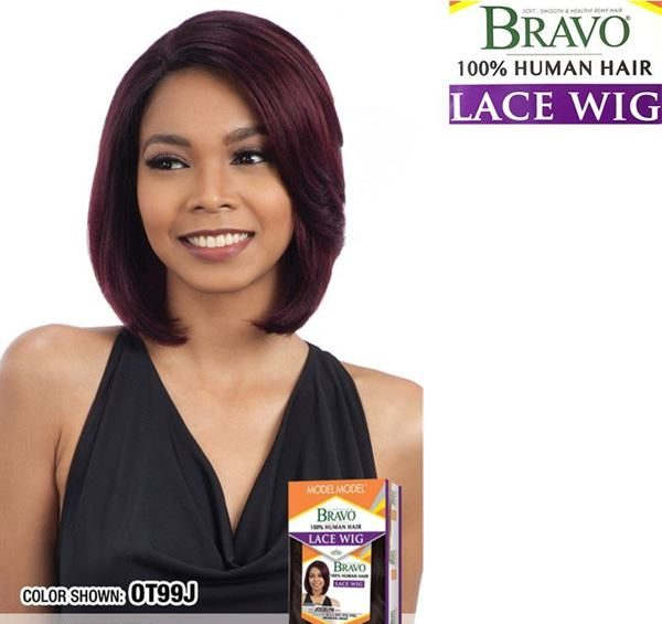 Model Model Human Hair Lace Front Wig Bravo Jocelyn