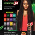 OUTRE X-PRESSION BRAID-PRE STRETCHED BRAID 52″ 3X SMLI