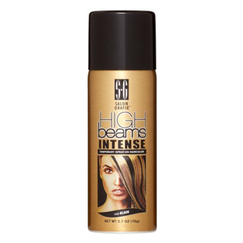 High Beams Intense Temporary Spray On Hair Color 20 Black 2.7 oz