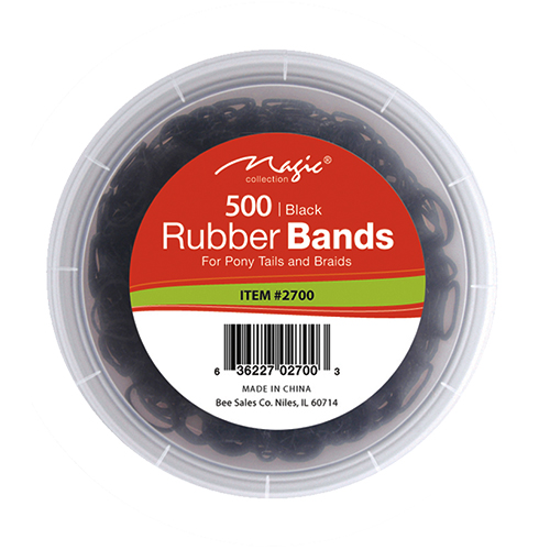 RUBBER BAND 500 BLACK